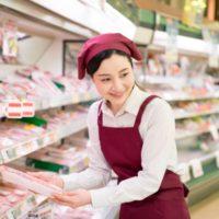 スーパー店内のお仕事
